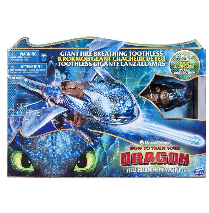 Dragons DreamWorks Дракон Большой Беззубик дышит огнем 66555