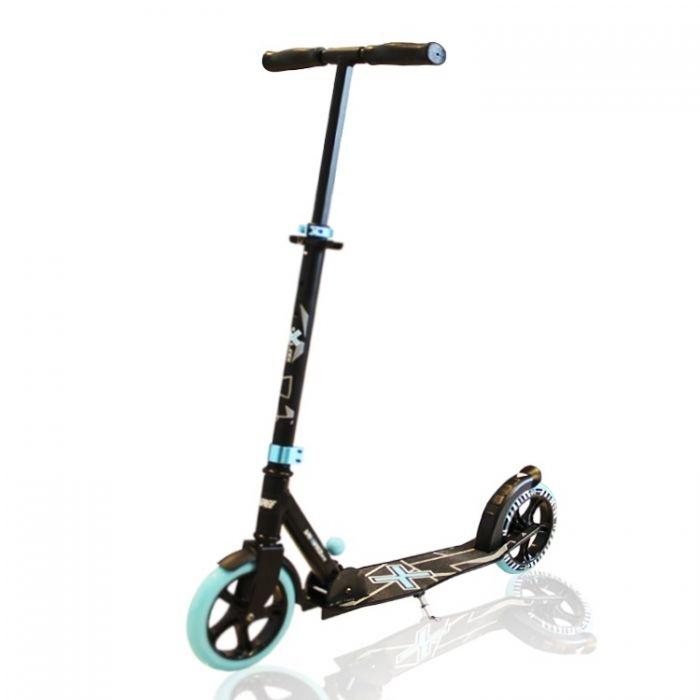 Самокат двухколесный Explore Degree 205 колесо голубой