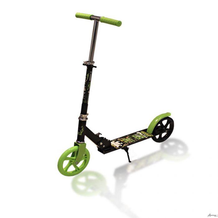 Самокат двухколесный Explore Climber колесо 200мм зеленый