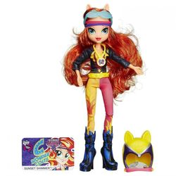 My Little Pony Кукла пони Сансет Шиммер Вондерколт Девушка Эквестрии Equestria Girls Sunset Shimmer B1771/3777