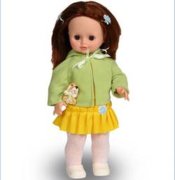 Кукла Весна Анна с собачкой, 43 см озвученная В1171/о/С1171/о