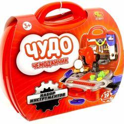Игровой набор инструментов Чудо чемоданчик 19 предметов PT-00457