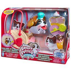 Набор Chubby Puppies Упитанные собачки Боксер с сумкой-переноской 56707
