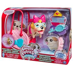Набор Chubby Puppies Упитанные собачки Лабрадор с сумкой-переноской 56707