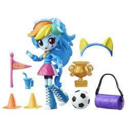 Мини кукла пони Девушки Эквестрии Rainbow Dash с аксессуарами B4909/8025