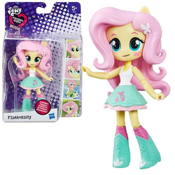 My Little Pony Мини кукла пони Девушки Эквестрии Флаттершай Fluttershy B4903/7787