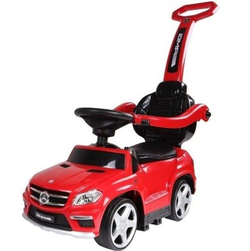 Аккумуляторная машинка каталка толокар Mercedes Benz свет, звук, кож.сиденье A888AA-H