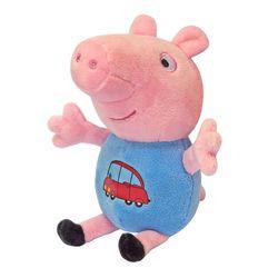 Мягкая игрушка Джордж с машинкой Peppa Pig 18 см 29620