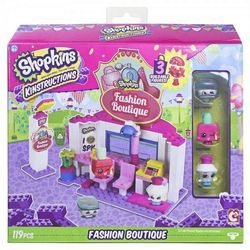 Shopkins Fashion Boutique Конструктор Шопкинс Салон красоты 37326/37328