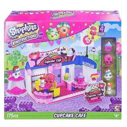 Shopkins Cupcake Cafe Конструктор Шопкинс Кекс Кафе 37335/37337