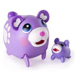 Chubby Puppies Упитанные собачки Коллекционная фигурка Сиреневый мишка 15 см 56709/2 Mulberry Bear