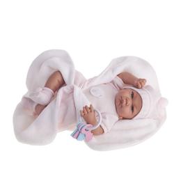 Antonio Juan кукла ребенок Фернанда в с розовым одеялом 40см 3362P