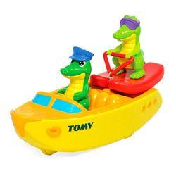 Игрушка для ванны Крокодил на водных лыжах 72358