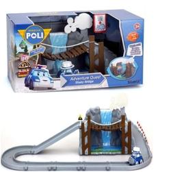 Игрушка Робокар Поли Обрушающийся мост над водопадом и Масти 83317