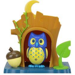 Digibirds Игрушка интерактивная Сова в домике поющая 55 мелодий 88359 синяя