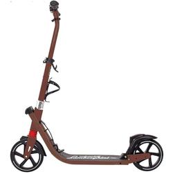 Самокат двухколесный Ламборджини LS6 колесо 200мм с амортизаторами коричневый