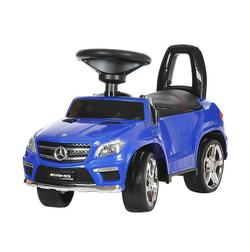 Каталка толокар Mercedes Benz GL63 AMG  свет, звук, кож.сиденье A888AA-D синий