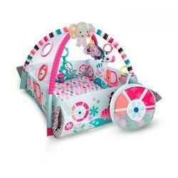 Развивающий коврик для новорожденных Мечты об Африке розовый  10786