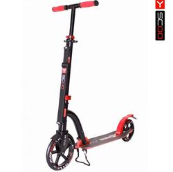Самокат Y-scoo RT 230 Slicker deluxe new Technology с амортизатором red 5748