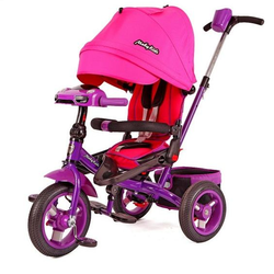Трехколесный велосипед Leader-2 Moby Kids T400-2 Pink
