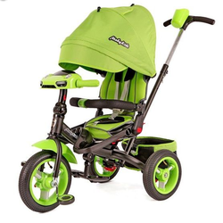 Трехколесный велосипед Leader-2 Moby Kids T400-2 Green