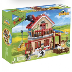 Конструктор BanBao Фермерский домик 315 деталей 8581