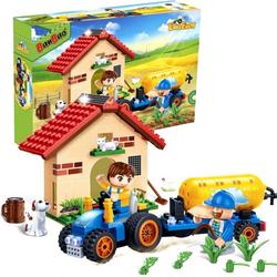 Конструктор BanBao Фермерский домик 185 деталей 8582