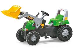 Трактор педальный rollyJunior RT с ковшом  от 3-х лет 811465
