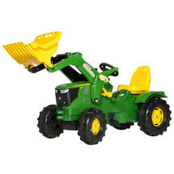 Трактор педальный с ковшом rolly Farmtrac John Deere 6210R от 4-х лет 611096