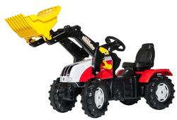 Трактор педальный с ковшом rollyFarmtrac Steyr CVT 6240 046317 от 4 лет