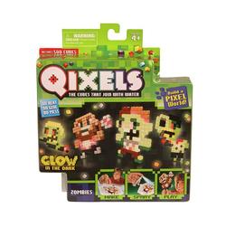 Qixels набор для творчества Квикселс Зомби, светится в темноте 87023
