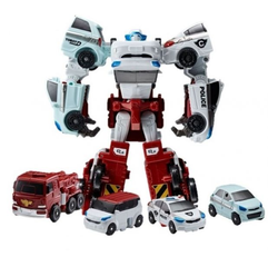 Робот-трансформер мини Тобот Кватран 4 в 1  301057