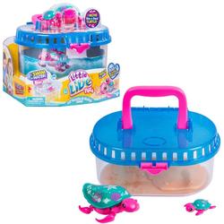 Интерактивная игрушка  Черепашка с малышом в аквариуме Moose Little Live Pets 28414