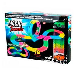 Гибкий трек светится в темноте Magic Tracks 366 деталей PT366