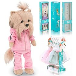 Мягкая игрушка Собака Йорк Фитнес Lucky Yoyo 35 см Lucky Doggy Оранж LD016
