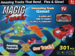 Гибкий трек светится в темноте Magic Tracks 301 деталь 8225
