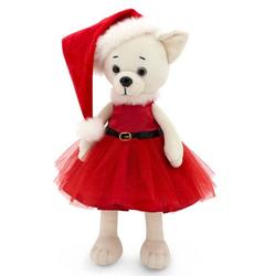 Мягкая игрушка Собака Чихуахуа Рождество Lucky Lili 35 см Lucky Doggy Оранж LD018