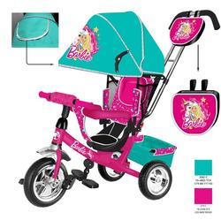 Трехколесный велосипед Barbie HB7TS бирюзовый
