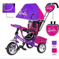 Трехколесный велосипед Barbie HB7VS фиолетовый
