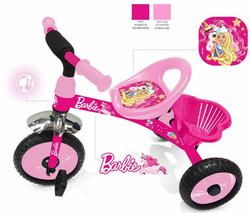 Трехколесный велосипед Barbie HB1P розовый