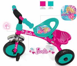 Трехколесный велосипед Barbie HB1G зеленый