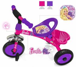Трехколесный велосипед Barbie HB1V фиолетовый