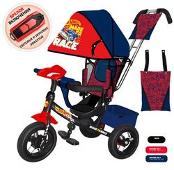 Трехколесный велосипед Hot Wheels HH7R красный