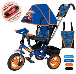 Трехколесный велосипед Hot Wheels HH7B синий