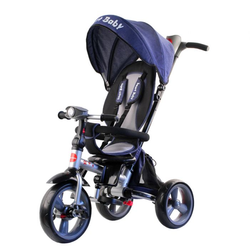 Трехколесный складной велосипед Smart baby TS2B синий