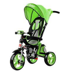 Трехколесный складной велосипед Smart baby TS2G зеленый