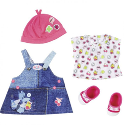 "Беби Бон одежда для кукол ""Джинсовая коллекция"" Сарафан Zapf Creation 824-498"