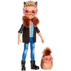Enchantimals кукла мальчик Хиксби и его питомец ежик Поинтер FJJ22