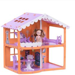 """Кукольный домик """"Загородный дом Анжелика"""" Krasatoys 39 х 55 х 53 см  000254"""