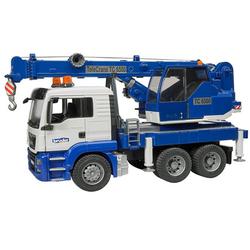Брудер Автокран MAN TGS с модулем свет и звук Bruder 03-770